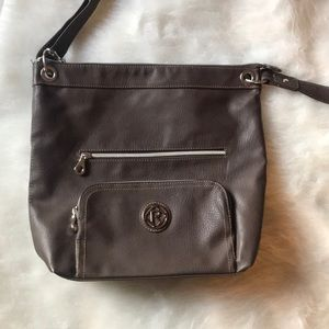 2 for $14 Relic Cross Body Brown Leather Purse